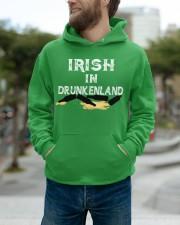 Irish In Drunken Land Hooded Sweatshirt apparel-hooded-sweatshirt-lifestyle-front-111
