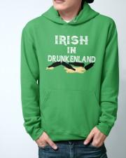 Irish In Drunken Land Hooded Sweatshirt apparel-hooded-sweatshirt-lifestyle-front-44
