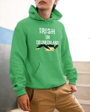Irish In Drunken Land Hooded Sweatshirt apparel-hooded-sweatshirt-lifestyle-front-56