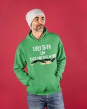 Irish In Drunken Land Hooded Sweatshirt apparel-hooded-sweatshirt-lifestyle-front-80