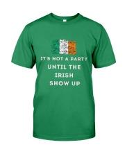 IRISH PARTY FOR ST PATRICK'S Premium Fit Mens Tee tile