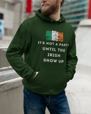 IRISH PARTY FOR ST PATRICK'S Hooded Sweatshirt apparel-hooded-sweatshirt-lifestyle-front-109