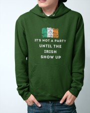 IRISH PARTY FOR ST PATRICK'S Hooded Sweatshirt apparel-hooded-sweatshirt-lifestyle-front-44
