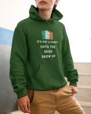 IRISH PARTY FOR ST PATRICK'S Hooded Sweatshirt apparel-hooded-sweatshirt-lifestyle-front-56