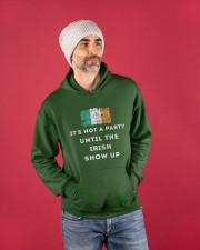 IRISH PARTY FOR ST PATRICK'S Hooded Sweatshirt apparel-hooded-sweatshirt-lifestyle-front-80