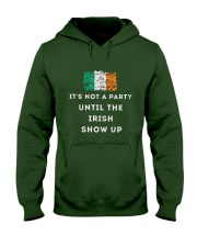 IRISH PARTY FOR ST PATRICK'S Hooded Sweatshirt front