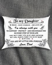 MY DAUGHTER Rectangular Pillowcase aos-pillow-rectangle-front-lifestyle-1