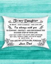 MY DAUGHTER Rectangular Pillowcase aos-pillow-rectangle-front-lifestyle-5