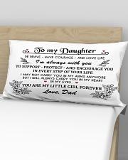 MY DAUGHTER Rectangular Pillowcase aos-pillow-rectangular-front-lifestyle-02