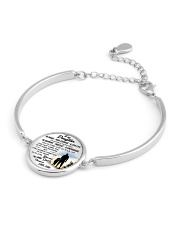 MY DAUGHTER - DAD STVT290101HD  Metallic Circle Bracelet aos-bracelet-metal-front-lifestyle-10