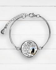 MY DAUGHTER - DAD STVT290101HD  Metallic Circle Bracelet aos-bracelet-metal-front-lifestyle-2