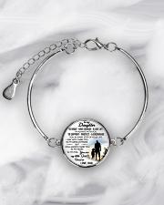 MY DAUGHTER - DAD STVT290101HD  Metallic Circle Bracelet aos-bracelet-metal-front-lifestyle-8