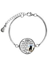 MY DAUGHTER - DAD STVT290101HD  Metallic Circle Bracelet front
