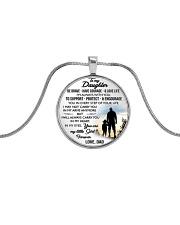 MY DAUGHTER - DAD STVT290101HD  Metallic Circle Necklace tile