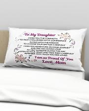 MY DAUGHTER - MOM Rectangular Pillowcase aos-pillow-rectangular-front-lifestyle-01