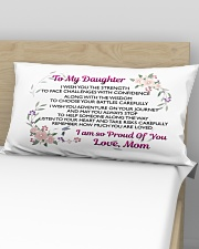 MY DAUGHTER - MOM Rectangular Pillowcase aos-pillow-rectangular-front-lifestyle-02