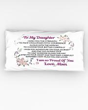 MY DAUGHTER - MOM Rectangular Pillowcase aos-pillow-rectangular-front-lifestyle-05