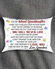 GRANDDAUGHTER - GRMA - US Rectangular Pillowcase aos-pillow-rectangle-front-lifestyle-1