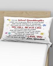 GRANDDAUGHTER - GRMA - US Rectangular Pillowcase aos-pillow-rectangular-front-lifestyle-02