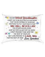 GRANDDAUGHTER - GRMA - US Rectangular Pillowcase back