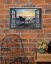 Horse HO300101HD Premium 24x16 Poster poster-landscape-24x16-lifestyle-24