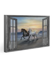 Horse HO300101HD Premium Gallery Wrapped Canvas Prints tile