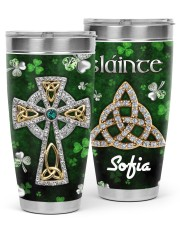 St Patrick's Day Jewelry  30oz Tumbler front