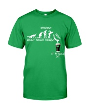 From Monday to St Patrick's Day Classic T-Shirt tile