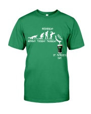 From Monday to St Patrick's Day Premium Fit Mens Tee tile