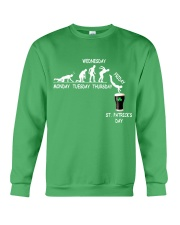 From Monday to St Patrick's Day Crewneck Sweatshirt tile