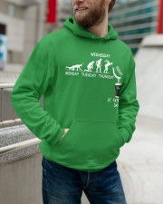 From Monday to St Patrick's Day Hooded Sweatshirt apparel-hooded-sweatshirt-lifestyle-front-109