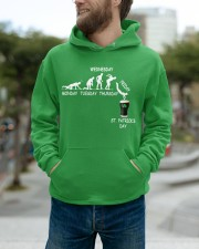 From Monday to St Patrick's Day Hooded Sweatshirt apparel-hooded-sweatshirt-lifestyle-front-111