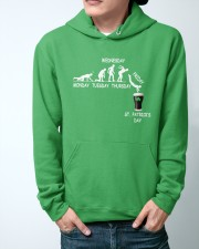 From Monday to St Patrick's Day Hooded Sweatshirt apparel-hooded-sweatshirt-lifestyle-front-44