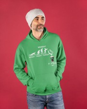 From Monday to St Patrick's Day Hooded Sweatshirt apparel-hooded-sweatshirt-lifestyle-front-80