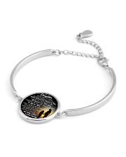 MY DAUGHTER - MOM STVT290101HD  Metallic Circle Bracelet aos-bracelet-metal-front-lifestyle-10