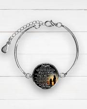 MY DAUGHTER - MOM STVT290101HD  Metallic Circle Bracelet aos-bracelet-metal-front-lifestyle-2