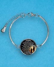 MY DAUGHTER - MOM STVT290101HD  Metallic Circle Bracelet aos-bracelet-metal-front-lifestyle-3
