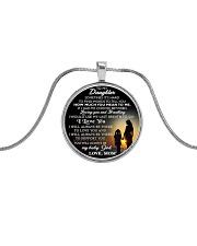 MY DAUGHTER - MOM STVT290101HD  Metallic Circle Necklace tile