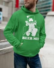 Beer me Hooded Sweatshirt apparel-hooded-sweatshirt-lifestyle-front-109