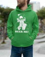 Beer me Hooded Sweatshirt apparel-hooded-sweatshirt-lifestyle-front-111