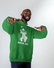 Beer me Hooded Sweatshirt apparel-hooded-sweatshirt-lifestyle-front-12
