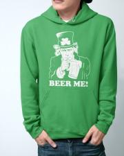 Beer me Hooded Sweatshirt apparel-hooded-sweatshirt-lifestyle-front-44
