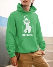 Beer me Hooded Sweatshirt apparel-hooded-sweatshirt-lifestyle-front-56