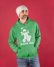 Beer me Hooded Sweatshirt apparel-hooded-sweatshirt-lifestyle-front-80