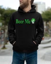 St Patricks Day Beer Me Hooded Sweatshirt apparel-hooded-sweatshirt-lifestyle-front-111