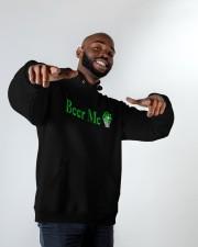 St Patricks Day Beer Me Hooded Sweatshirt apparel-hooded-sweatshirt-lifestyle-front-12
