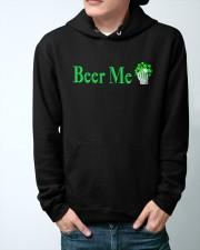 St Patricks Day Beer Me Hooded Sweatshirt apparel-hooded-sweatshirt-lifestyle-front-44