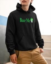 St Patricks Day Beer Me Hooded Sweatshirt apparel-hooded-sweatshirt-lifestyle-front-56