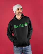 St Patricks Day Beer Me Hooded Sweatshirt apparel-hooded-sweatshirt-lifestyle-front-80