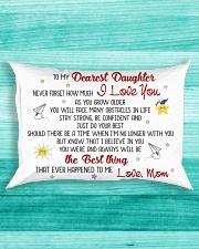 MY DAUGHTER - MOM Rectangular Pillowcase aos-pillow-rectangle-front-lifestyle-5